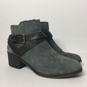 Sonoma | Grey Suede Ankle Boots Size 9.5